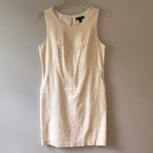 Willi Smith Cream Dress